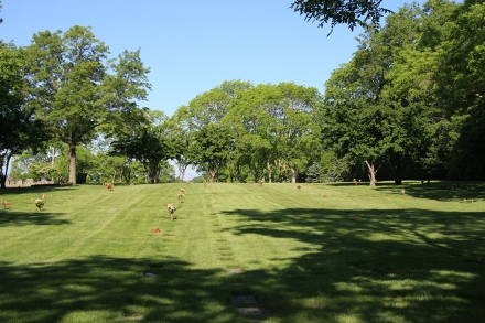 photo of Single Grave Spaces for Cremains